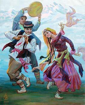 维吾尔族舞蹈——赛乃姆