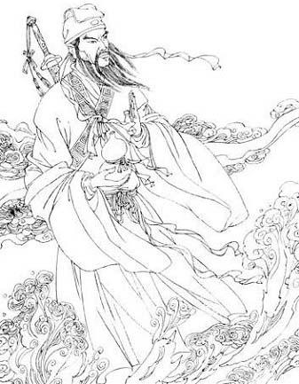 吕洞宾是位身分复杂,身兼数职的神仙,儒教将祂列为五位