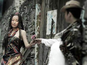 藏族辫子编法图解