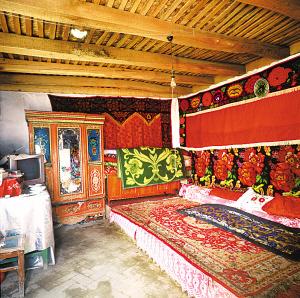 帕米尔高原的塔吉克族民居