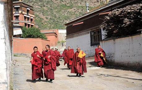 拉卜楞寺喇嘛的藏传佛教生活