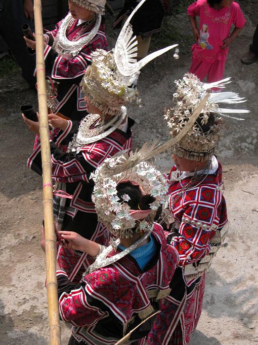 刺绣在黔东南苗族地区的传统地位很高