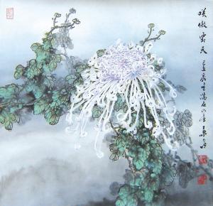 """中国 秋天 春色/说菊花只是秋天的花,那是很久以前的事了。说""""菊乃花中之隐逸..."""