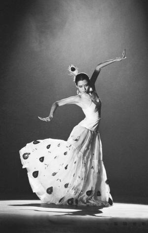 白族舞蹈家杨丽萍是肖全成为自由摄影师后第一个拍摄对象.
