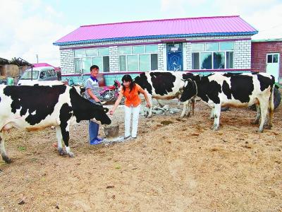 探访柯尔克孜族村