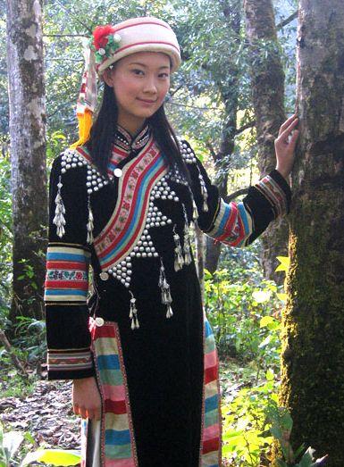 民族特色服饰之拉祜族服饰