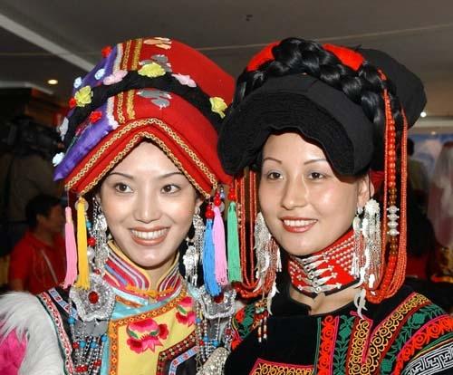 56个民族服饰之苗族服饰图片