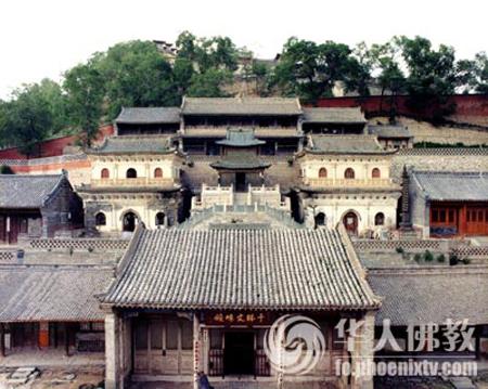 五台山显通寺 中国的第二座寺庙
