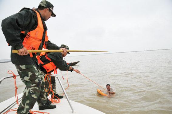 以此提高部队海上救援应急能力