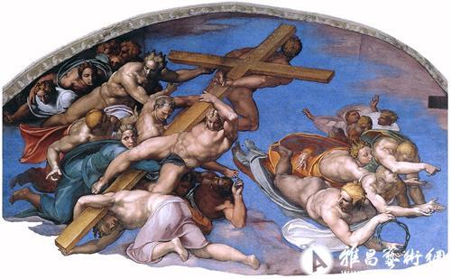 米开朗基罗499年前完成西斯廷礼拜堂壁画《创世纪》