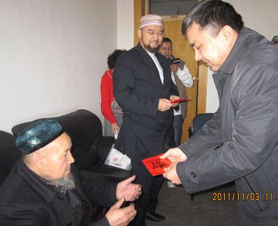 乌鲁木齐市领导古尔邦节前慰问爱国宗教人士