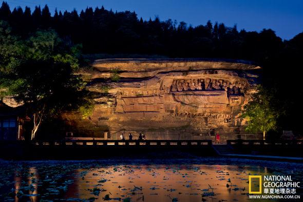 ...石窟寺及摩崖造像众多,内容题材独具本地特色,在中国石窟史上...
