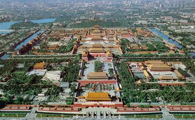 故宮博物館俯視圖