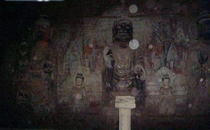 形彩斑驳神采恬淡 深度解读北石窟寺圣母宫壁画