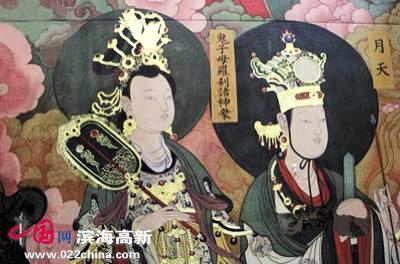 中央美术学院为大同善化寺绘制壁画