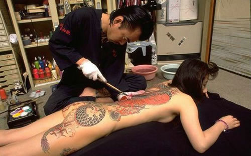 日本:神秘的纹身文化