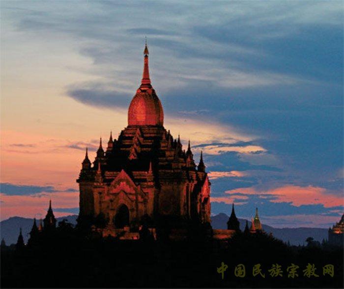缅甸蒲甘的佛塔