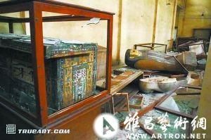中国 国家博物馆 战火 博物馆/伊拉克國家博物館珍貴文物遭洗劫