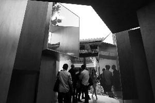 大栅栏就将参加北京国际设计周的各国精英们