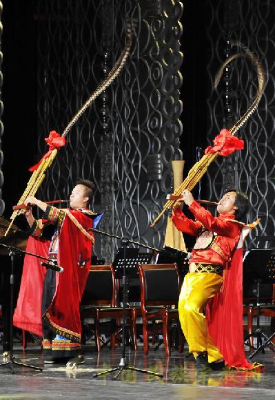 第四届 金芦笙 中国民族器乐大赛圆满落幕