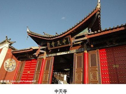 古建筑采用木结构,柱子多用台湾杉