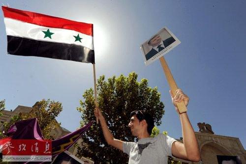 大马士革/2013年12月9日,在敘政府軍占領大馬士革農村省戰略重鎮納比克...