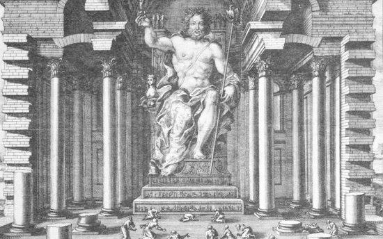 罗得岛太阳神巨像:被誉为世界七大奇迹之一