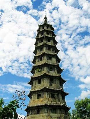 最大的石塔——古田吉祥寺塔