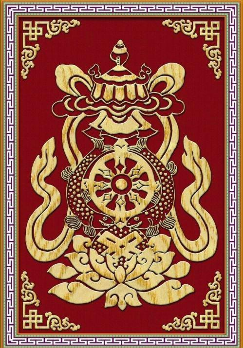 图说藏族吉祥图案 - 中国民族宗教网