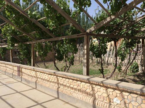 西北农村平房木头结构图片