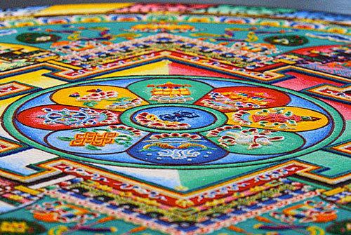 艺术 西藏/西藏坛城沙画
