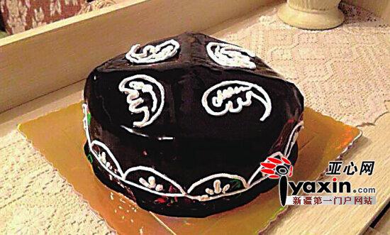 刺绣蛋糕图片动物