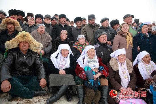 """新疆哈萨克族等民族欢度""""纳吾热孜""""节"""