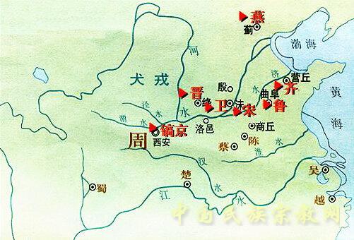商朝墓葬结构图