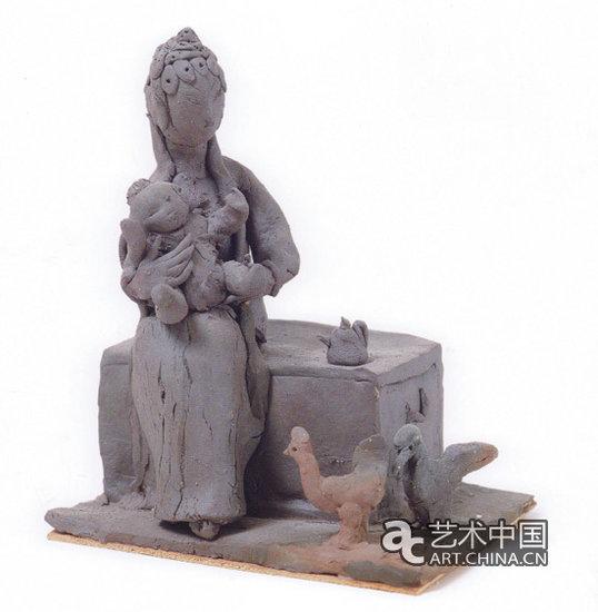 """纪念刘士铭逝世五周年:当代雕塑的艺术人生传奇[ 来源:艺术中国  发布日期:2015-06-04 &nbsp浏览()人次  投稿  收藏 ]  """"一个人性情上的天真,是一种赤诚的好。而在创作上,看似笨拙的一种稚气,却是最成熟的自在。"""" 刘士铭 1926年2月8日2010年5月24日   钱绍武说,很多大艺术家的一生就是一件伟大的艺术品。刘士铭就是这样。   他的相貌就不同一般,从小得了寒腿病,走路有点拐,他拼命锻炼,采用中西各法,结果上半身肌肉纤结,而下半身还不见长。他有副光彩照人的眼"""