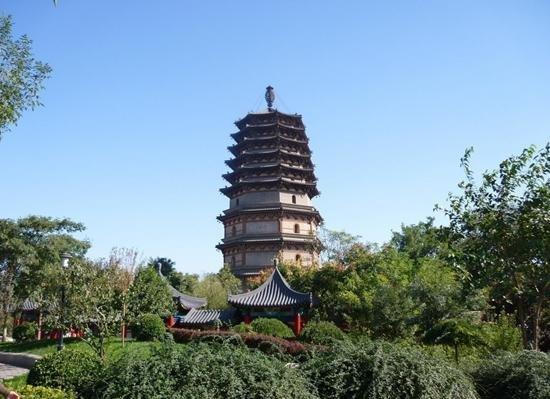 正定三大千年佛塔 - 中国民族宗教网