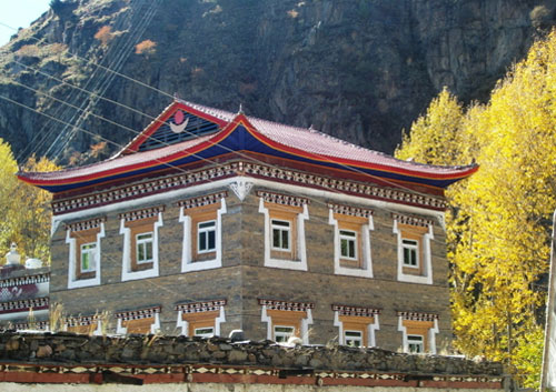 藏式房屋 来自百度图片图片