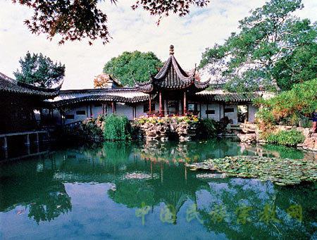 中国古典园林的建造就是在有限的空间环境中图片