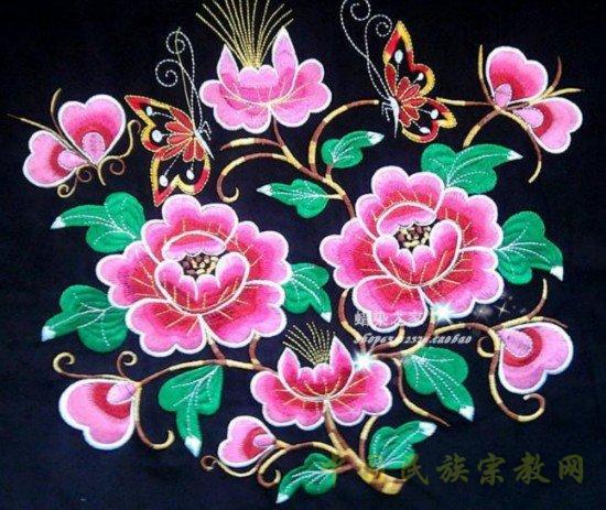 苗族服装花纹图案