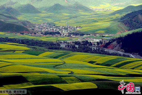 青海省海北藏族自治州祁连县卓尔山风景区