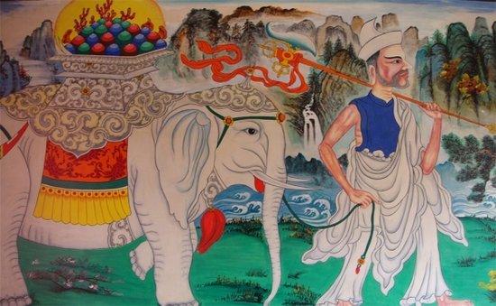 塔尔寺壁画(图片来源于网络)
