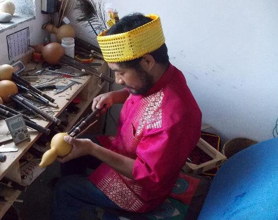 幼儿园手工乐器