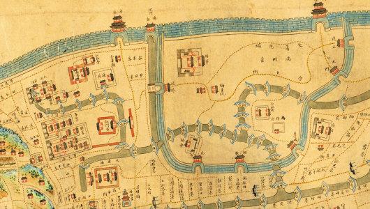 清朝地图最大时全图-清至民末,杭州全真道是如何从兴盛走向衰退的