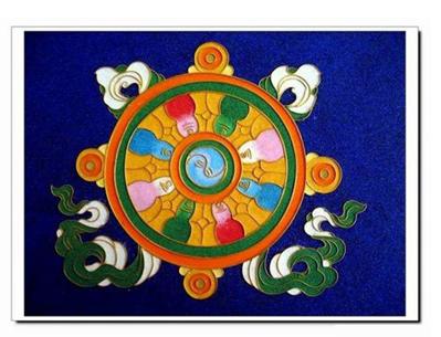 藏传佛教八宝吉祥图图片