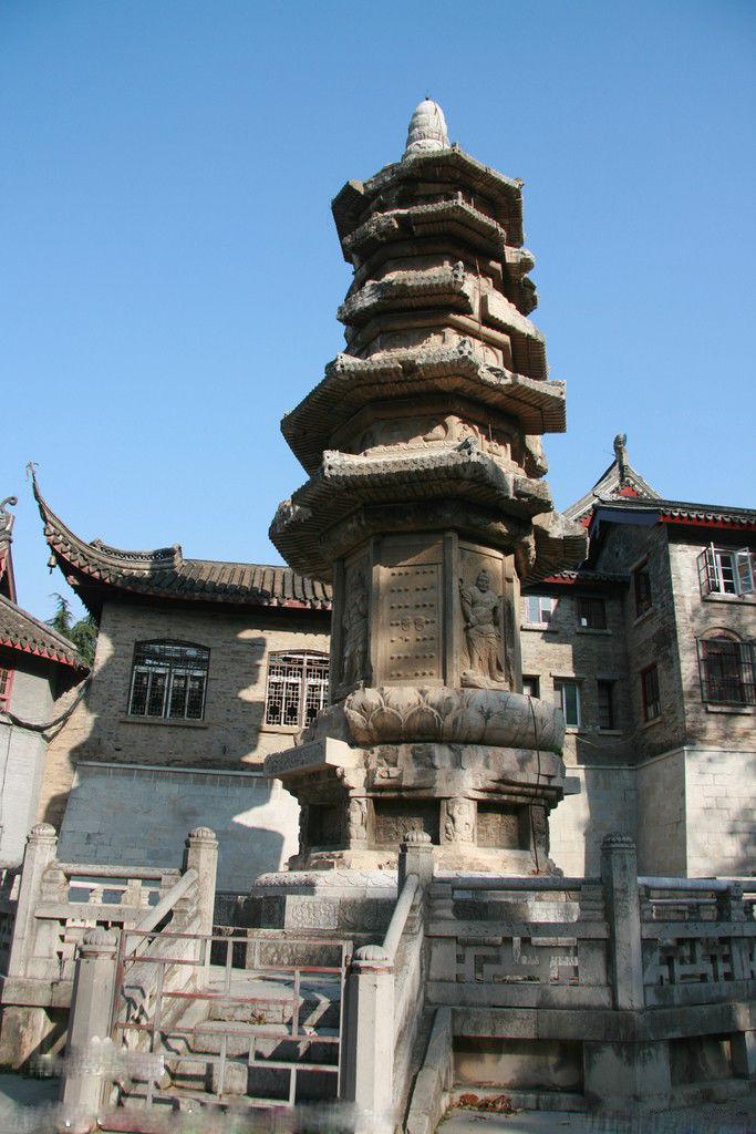 著名中国古代佛塔大盘点——栖霞寺舍利塔