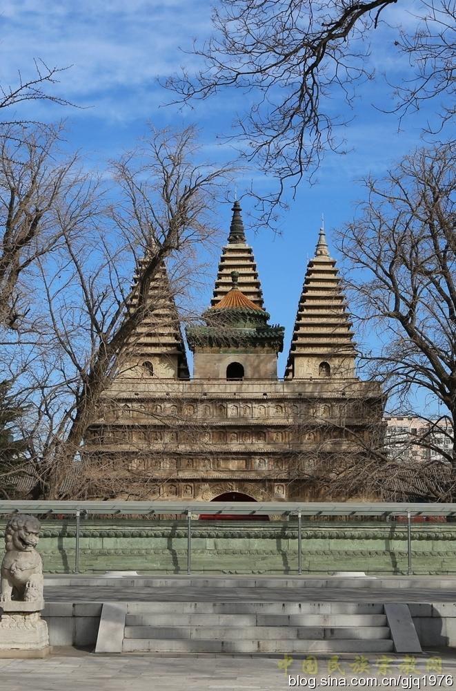 著名中国古代佛塔大盘点——真觉寺金刚宝座塔