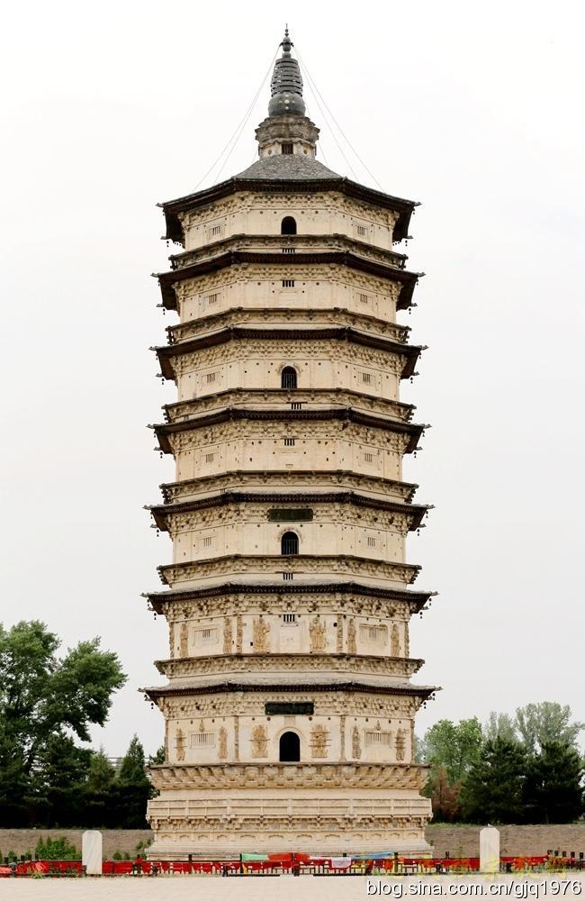 著名中国古代佛塔大盘点——万部华严经塔