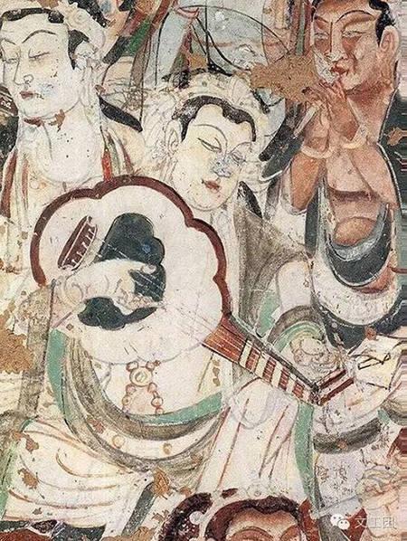 敦煌壁画中那些稀奇乐器