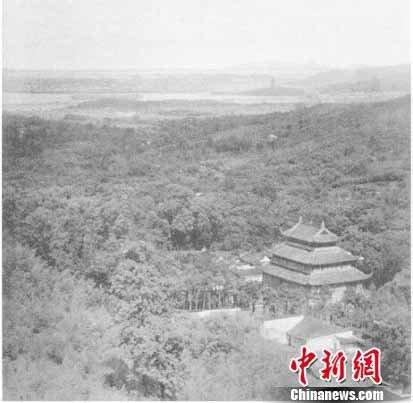外晚清民国佛教老照片展出 再现杭州百年前面貌图片