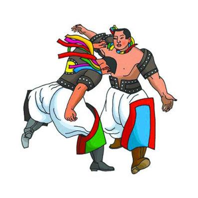 蒙古族摔跤